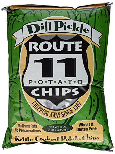 Route 11 various Potato Chips (Dill Pickle, 6oz (3 ct))