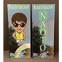 NAOTO 千社札 ステッカー RAINBOW シークレット シクレ 三代目 J Soul Brothers 三代目 JSB 3JSB グッズ
