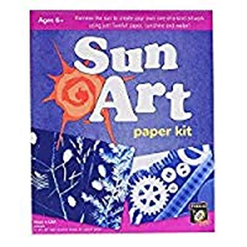Tedco Solar Drawing Paper Art Kit, 8 X 10 Paper, 12 Sheets (Toy)