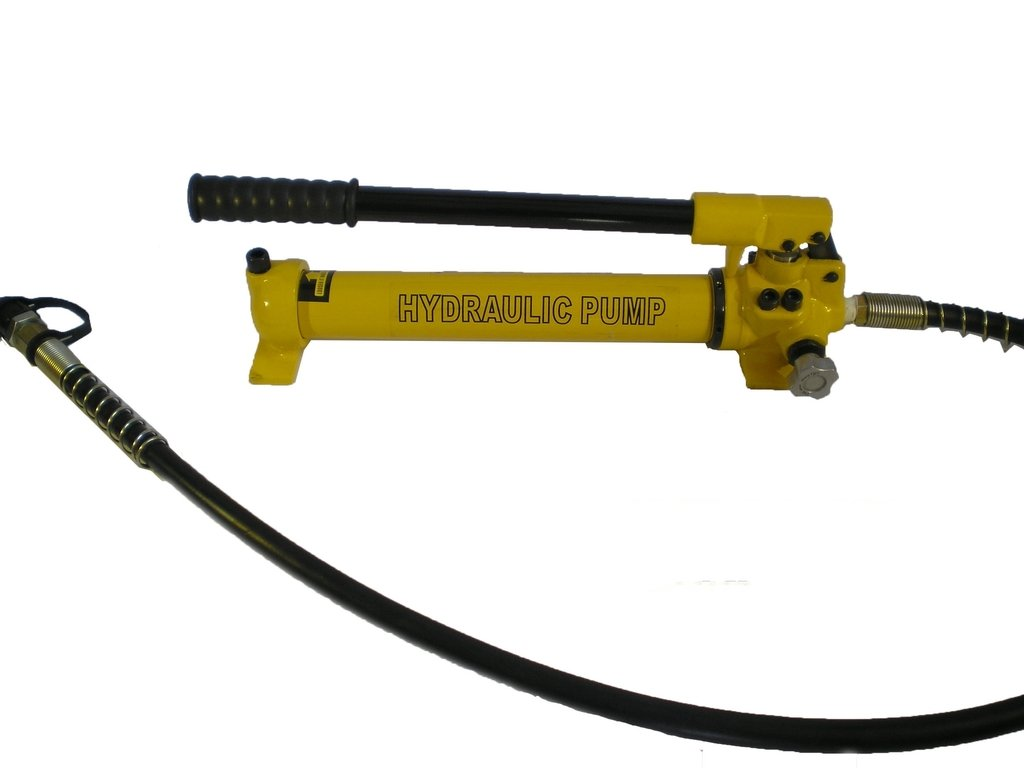 Hydraulic Hand Pump sale 2 Speed Power - psi Coupler Pack Max 81% OFF Hose 10000