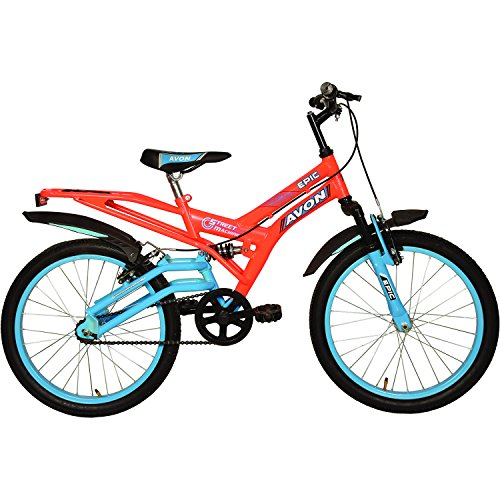Avon Boy's Steel Epic 20T Cycle (Florescent Orange/Sky Blue)