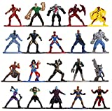 Marvel 1.65' Die-cast Metal Collectible Figures 20-Pack Wave 3, Toys for Kids and Adults