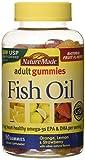 Nature Made Fish Oil Adult Gummies - Orange Lemon & Strawberry Banana 90 Ct, Pack of 2