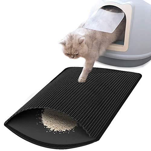 CLEEBOURG Cat Litter Mat, Kitty Litter Box Trapping Mat Large Size 30