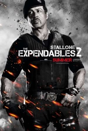 THE EXPENDABLES 2 – Imported Movie Wall Poster Print – 30CM X 43CM SYLVESTER STALLONE