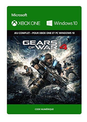 Gears of War 4: Standard Edition [Xbox One/Windows 10 PC - Code jeu à télécharger]