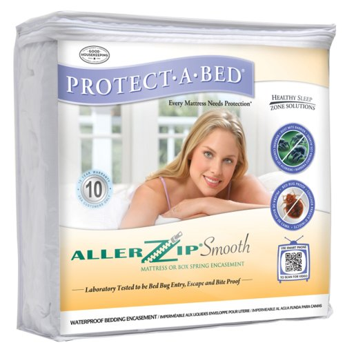 Aller Zip Polyester Smooth Anti-Allergy and Bed Bug Proof...
