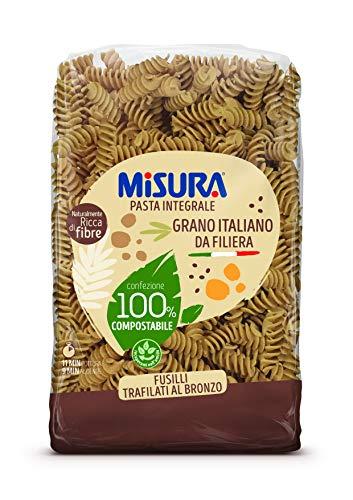 Misura Fusilli Integrali Fibrextra | Grano 100% Italiano | Confezione da 500 grammi