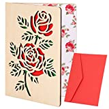 Best Valentine's Day Cards - Wooden Father's Day Cards Wooden Anniversary Cards Handmade Review