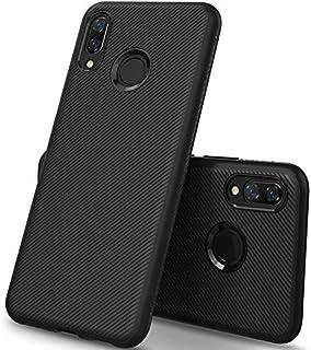 KuGi Huawei Nova 3i Case, Shock Absorption Protection Soft TPU Case Cover for Huawei Nova 3i, Black