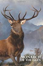 "Monarch of the Glen: A discreet password book for people who love deer and Scotland (5.06""x7.81"")."