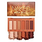Urban Decay Naked Petite Heat Eyeshadow Palette, 6 Scorched Matte Neutral Shades - Ultra-Blendable, Rich Colors with Velvety Texture - Makeup Set Includes Mirror & Full-Size Pans - Great for Travel