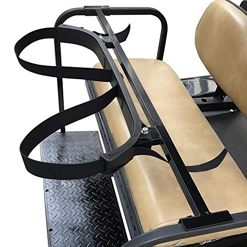 sthus Universal Golf Bag Holder Bracket Attachment Cart Rear Seat for EZGO Club Car Yamaha US