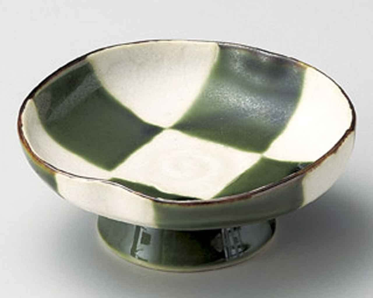 Oribe free shipping Kohshi 4.6inch Set of 5 Bowls Green Made i porcelain Max 53% OFF Small