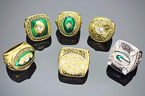 1996 Packers Ring Set Set American Football Rugby Champions Rings Championship Combo Set Fan Replica Regalos para Fans Memorial Collection 11