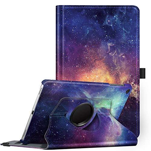 Fintie Hülle für Samsung Galaxy Tab A 10.1 T510/T515 2019, 360 Grad verstellbare Schutzhülle Cover Case Tasche mit Standfunktion für Galaxy Tab A 10,1 Zoll 2019 Tablet-PC, Die Galaxie