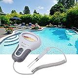 Probador de cloro y pH CL2, medidor de calidad de agua de alta precisión con sonda para beber en el hogar, agua de acuario de piscina, escuela de laboratorio
