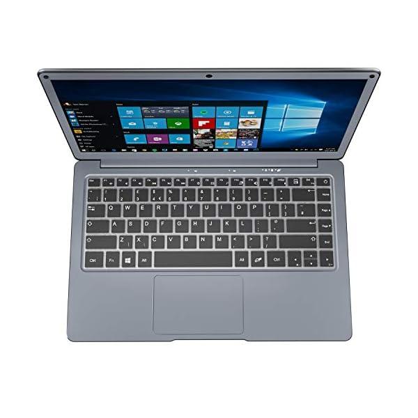 Jumper EZbook X3 13.3 inch Windows 10 laptop, 6GB RAM 64GB, dual core processor, TF card supports up to 128GB expansion, M.2 SSD supports up to 1TB expansion 5