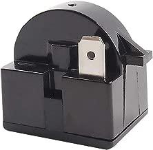 1 PCS QP2-4R7 4.7 Ohm 1 Pin Refrigerator PTC Starter Relay Black