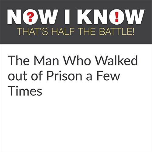 Diseño de la portada del título The Man Who Walked Out of Prison a Few Times