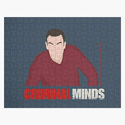 Puzzles 1000 Piece - Criminal Minds - Jason Gideon - Wooden Jigsaw Puzzle Daily Jigsaw Puzzle Games for Adults & Kids Challenge
