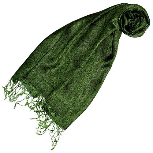Lorenzo Cana - Pashmina Damenschal Schal Schaltuch hochertig kuschelweich und leicht Damenschal Stola 70 x 180 cm opulentes Paisley Muster aufwändig gewebt 78149