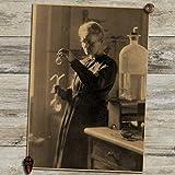 QAQTAT Marie Curie Wissenschaftler Chemiker Physiker Retro