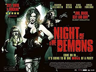 Night of the Demons POSTER (11