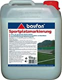 Baufan Sportplatz Markierung Markierungsfarbe 14kg