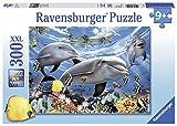 Ravensburger - Puzzle con diseño de 'delfines', 300 piezas (13052 8)