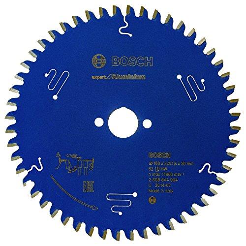 Bosch - 2608644094 lama di sega circolare - lame di seghe circolari (alluminio, hltcg (alto-basso triplo chip di grind))