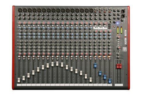 Lowest Price! Allen & Heath ZED-24 24-Channel Mixer with USB Interface