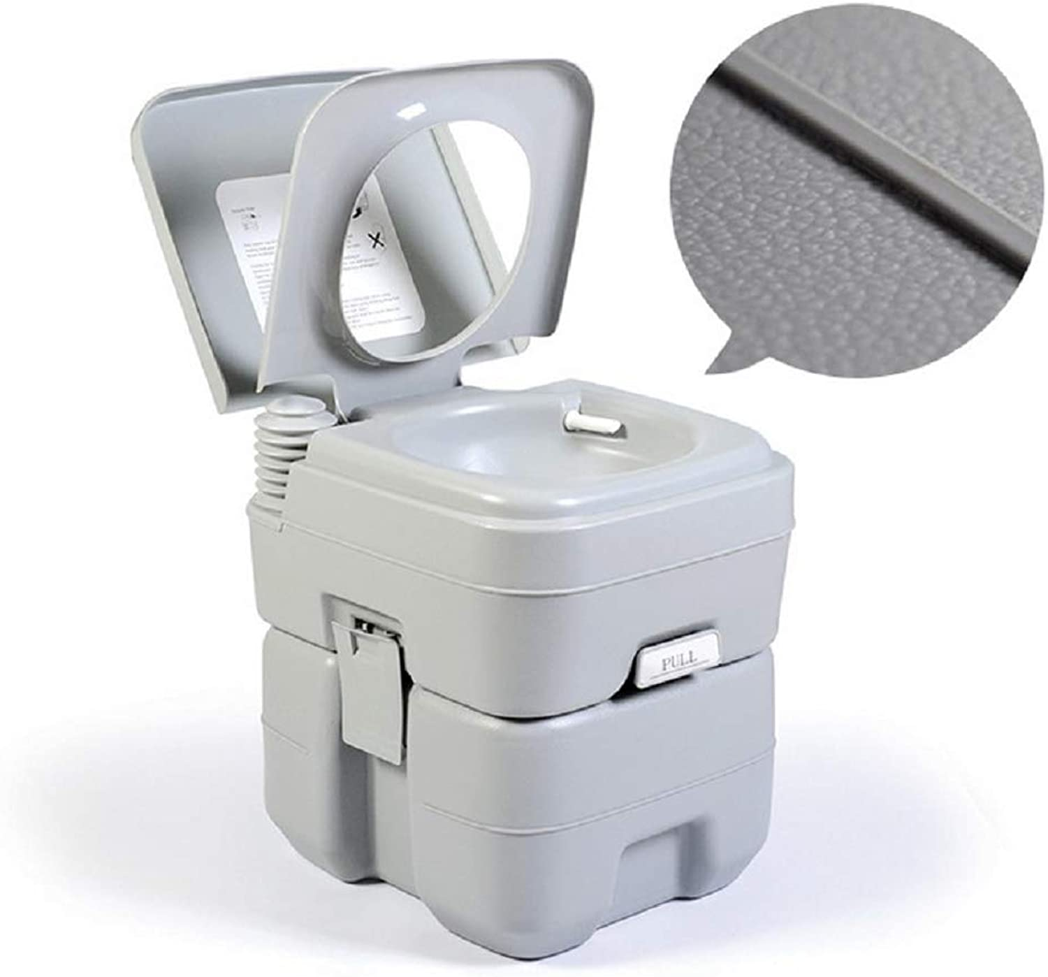 SHKY Portable Travel Toilet Designed For Camping, RV, Boating And Other Recreational Activities