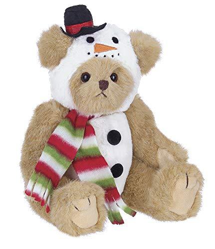 Bearington Frost E. Bear Christmas Limited - Fabric 10.00 IN