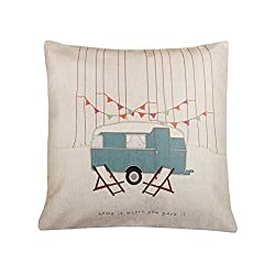 Vintage Camper Pillows - Throw Pillow Cover Sale! - The Frugal Girls