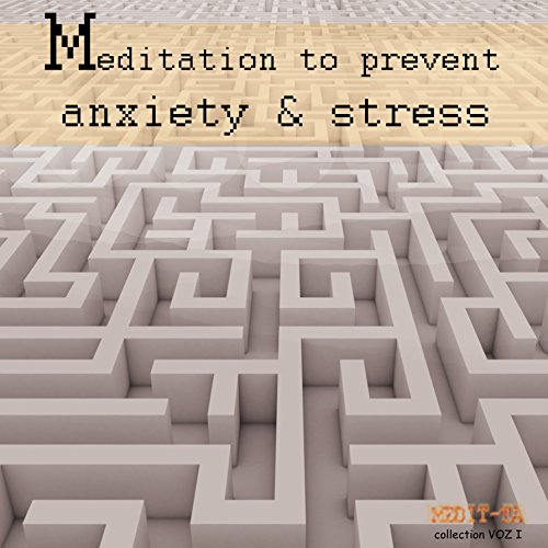 Meditation to Prevent Anxiety & Stress audiobook cover art