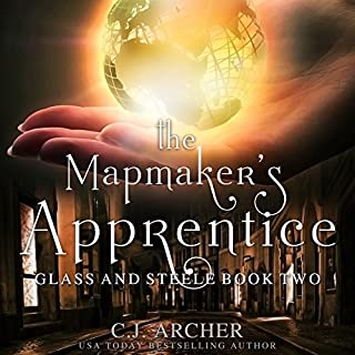 The Mapmaker's Apprentice audiobook cover art