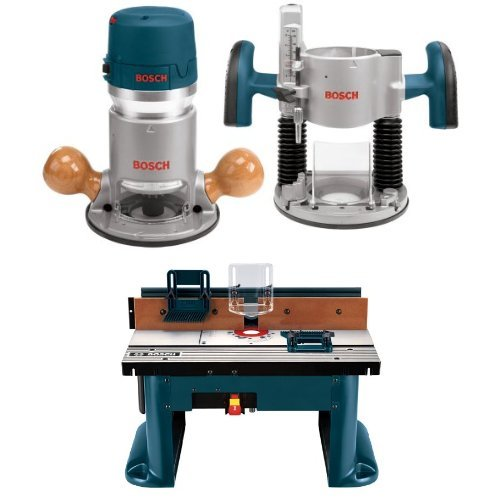 Best Prices! Bosch Router Power Tools 1617EVSPK - 12 Amp 2-1/4-Horsepower Plunge and Fixed Base Vari...