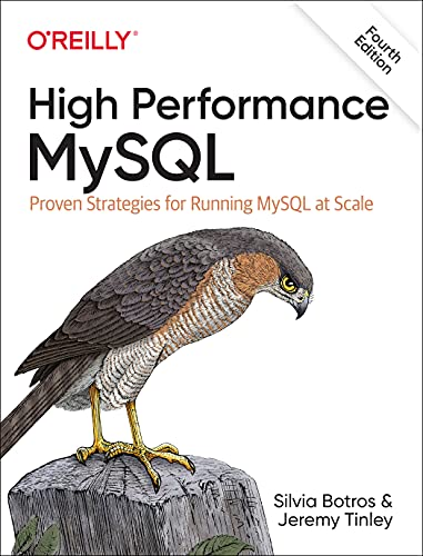 High Performance MySQL, 4th Edition Front Cover