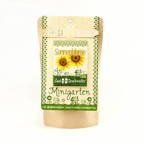 Die Stadtgärtner Minigarten Sonnenblume | Komplettes Pflanzset für die Atztekenblume