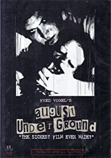 Fred Vogel's AUGUST UNDERGROUND
