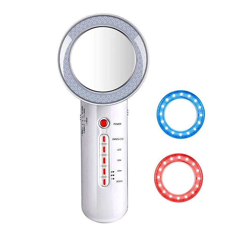 ウールレキシコン脂肪除去機、6イン1多機能振動美容機器EMS脂肪除去アーム腹部腹部ヒップスキン引き締め機