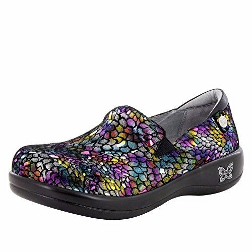 Alegria Keli Womens Slip-On Shoe Minnow Rainbow 8 M US