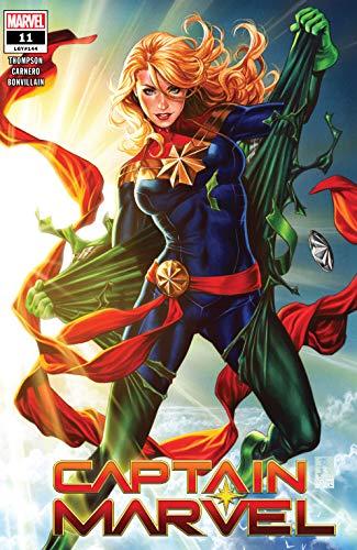 Amazon Com Captain Marvel 2019 11 Ebook Thompson Kelly Brooks Mark Carnero Carmen Kindle Store