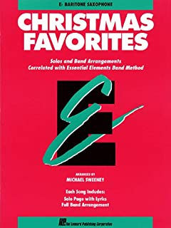 Essential Elements Christmas Favorites: Eb Baritone Saxophone