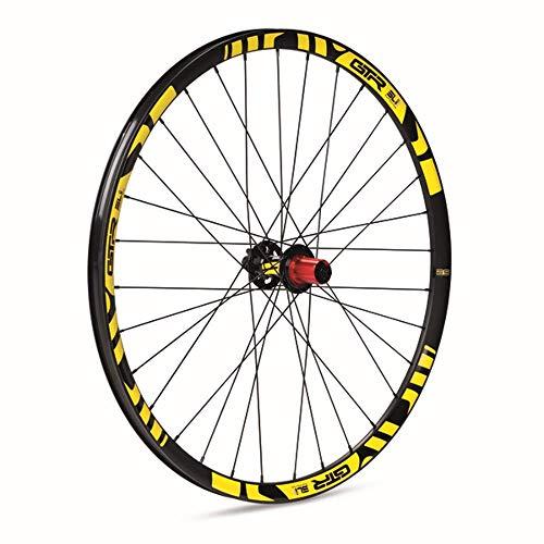GTR GTR-SL Rueda trasera para MTB, unisex adulto, amarillo, 29