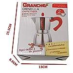 BiCom-Granchef-Caffettiera-in-Alluminio-2-Tazze-Moka-Caffe-Espresso-con-Il-Manico-e-Il-Pomelo-Rosso-2-Tazze