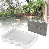 Paseo del jardín de Molde de plástico de ladrillo de Cemento Molde Caminar Fabricante de Molde de hormigón Cerca Molde de hormigón