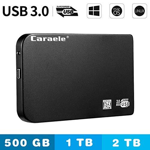 Premewish Hard Disk 500GB Esterno 2.5' USB 3.0 Hard Disk Esterno Portatile per PC, Mac, Desktop,Windows, Linux