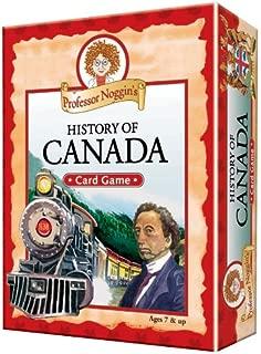 Educational Trivia Card Game - Professor Noggin's History of Canada